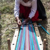 UNESCO protected Taquile weaving