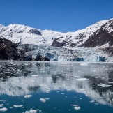 Arriving at Surprise Glacier - Stunning reflections